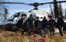 Field work in Northern Alberta, Canada